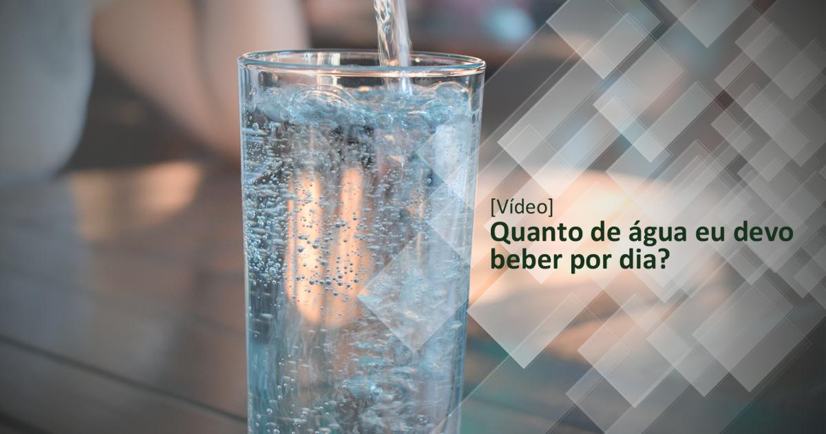água por dia